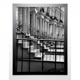 GAY Image encadrée Terraced Houses London I 67x87x87 cm