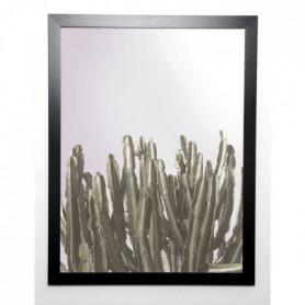 BRAUN STUDIO Image encadrée Cactus Cierges 57x77 cm