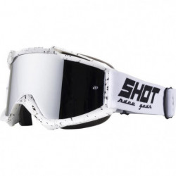 SHOT Lunettes Iris Scratch Blanc