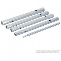 SILVERLINE Lot de 5 clés a tube pour mitigeurs
