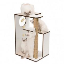 Arbre A Chat Vesper V-box Large Blanc H78cm