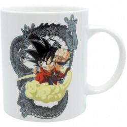 Mug Dragon ball - 320 ml - DB  / Goku & Shenron - porcelaine