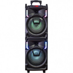 INOVALLEY  MS01XXL Enceinte Nomade Karaoke Trolley - bluetooth