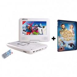 TAKARA-VR132WPK  Lecteur DVD Portable Ecran 7'' + Film DVD A la