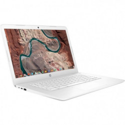 "HP Chromebook - 14""HD - Celeron N3350 - RAM 4Go - Stockage 32Go"