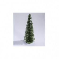 AUTOUR DE MINUIT Sapin vert pointes blanches - 50 branches - H