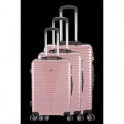 FRANCE BAG - Set de 3 valises 8 roues multidirectionelles