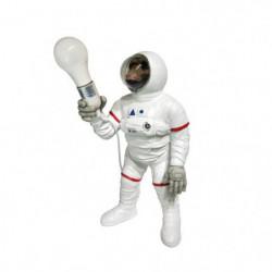 Statue Singe astronaute avec lumiere - 24 x 22,5 x 47,5 cm