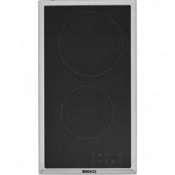 BEKO HDMC32400TX - Table de cuisson vitrocéramique - 2 zones