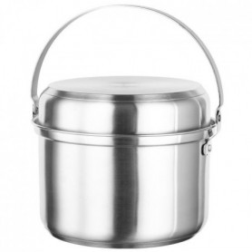 INOXIBAR Batterie de cuisine Kamp 7 pieces - Gris