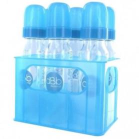 DBB REMOND Lot de 6 biberons en verre 240 ml
