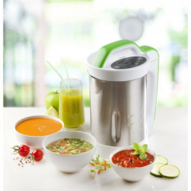 DOMO DO499BL Blender chauffant Soup Maker