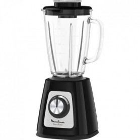 MOULINEX LM430810 Blender Blendforce - Verre - Noir