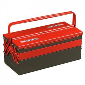 FACOM Boîte a outils vide en métal 5 compartiments