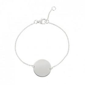 YSORA Bracelet Victoria Kiss Argent 925° Jeton