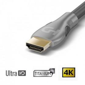 HDELITE Cble HDMI 2.0 Ultra HD 4K / 3D 5m