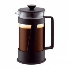 BODUM CREMA Cafetiere a piston 8 tasses 1.0 l Noir