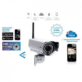 Bluestork Caméra IP HD Cloud Wifi  Fixe Exterieure