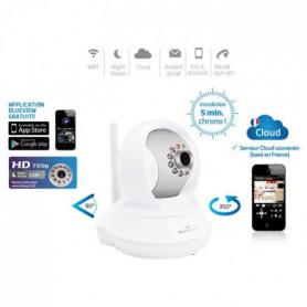 Bluestork Caméra Cloud HD motorisée d'intérieur WiFi