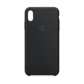 Coque en silicone pour iPhoneXSMax - Noir