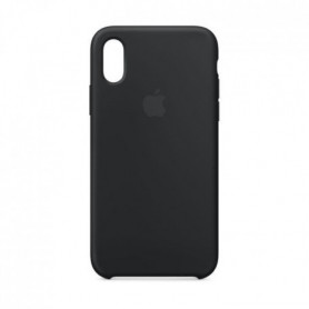 Coque en silicone pour iPhoneXS - Noir