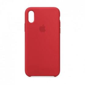 Coque en silicone pour iPhoneXS - (PRODUCT)RED