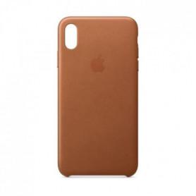Coque en cuir pour iPhoneXSMax - Havane