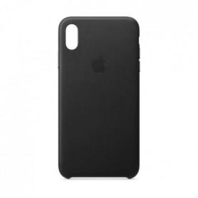 Coque en cuir pour iPhoneXSMax - Noir