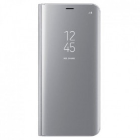 Samsung Clear View Cover Stand S8+ Argent