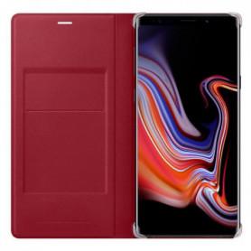 SAMSUNG Flip Wallet cuir Rouge