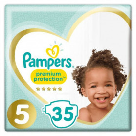 PAMPERS Premium Protection Taille 5 - De 11 a 23kg