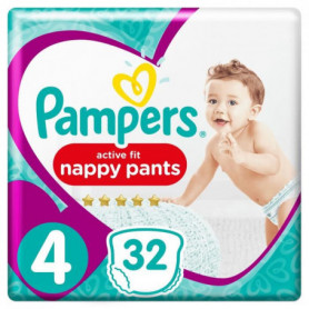 PAMPERS Premium Active Fit Pants Taille 4