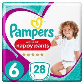Pampers Premium Active Fit Pants Taille 6 15+ kg