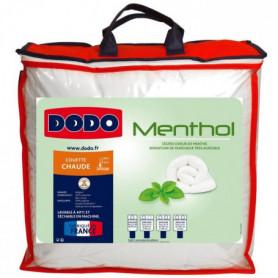 DODO Couette Menthol - 100% polyester traité - 220x240 cm
