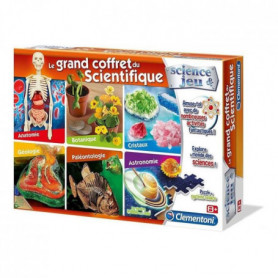 CLEMENTONI Science & Jeu - Le grand coffret du scientifique