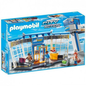 PLAYMOBIL 5338 - City Action - Aéroport avec Tour