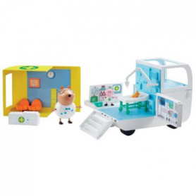 PEPPA PIG Le Centre Médical de PEPPA PIG avec 2 figurines