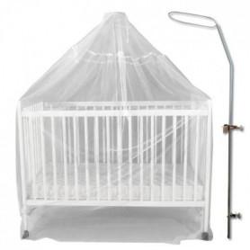 BAMBISOL Fleche de lit + voile moustiquaire