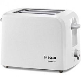 BOSCH TAT3A011 Grille-pain CompactClass - Blanc