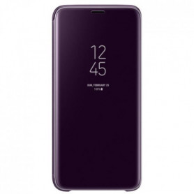 Samsung Clear View Cover Stand S9 - Violet