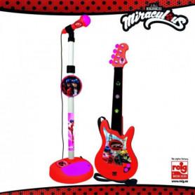 MIRACULOUS/LADYBAG Guitare et microphone - 4 cordes