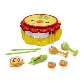 FISHER PRICE Tambour Lion