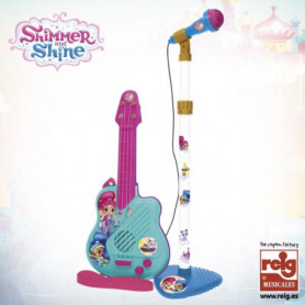 SHINMER AND SHINE Microphone et guitare - 4 cordes