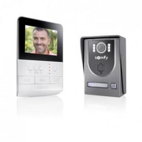 SOMFY Interphone vidéo 2 fils V100 écran couleur