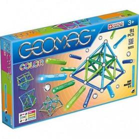 GEOMAG COLOR Jeu de Construction Magnétique 91 pcs