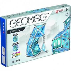 GEOMAGPRO L Jeu de Construction Magnétique 110 pcs