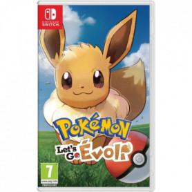Pokémon : Let's go, Evoli Jeu Switch Pokemon Go
