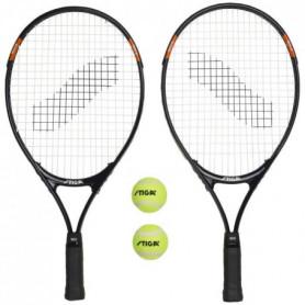 STIGA Set de tennis Tech 21 - Noir