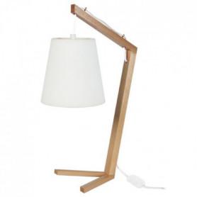 CHICKEN FOOT Lampe a poser Bois hetre - 28x28x51cm
