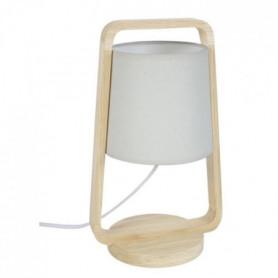 LEGNO Lampe a poser Bois hetre - 19x19x32cm